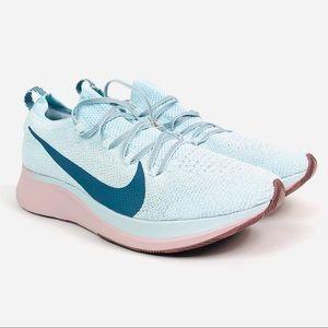 Women's Nike Zoom Fly FK Size 10 Glacier Blue